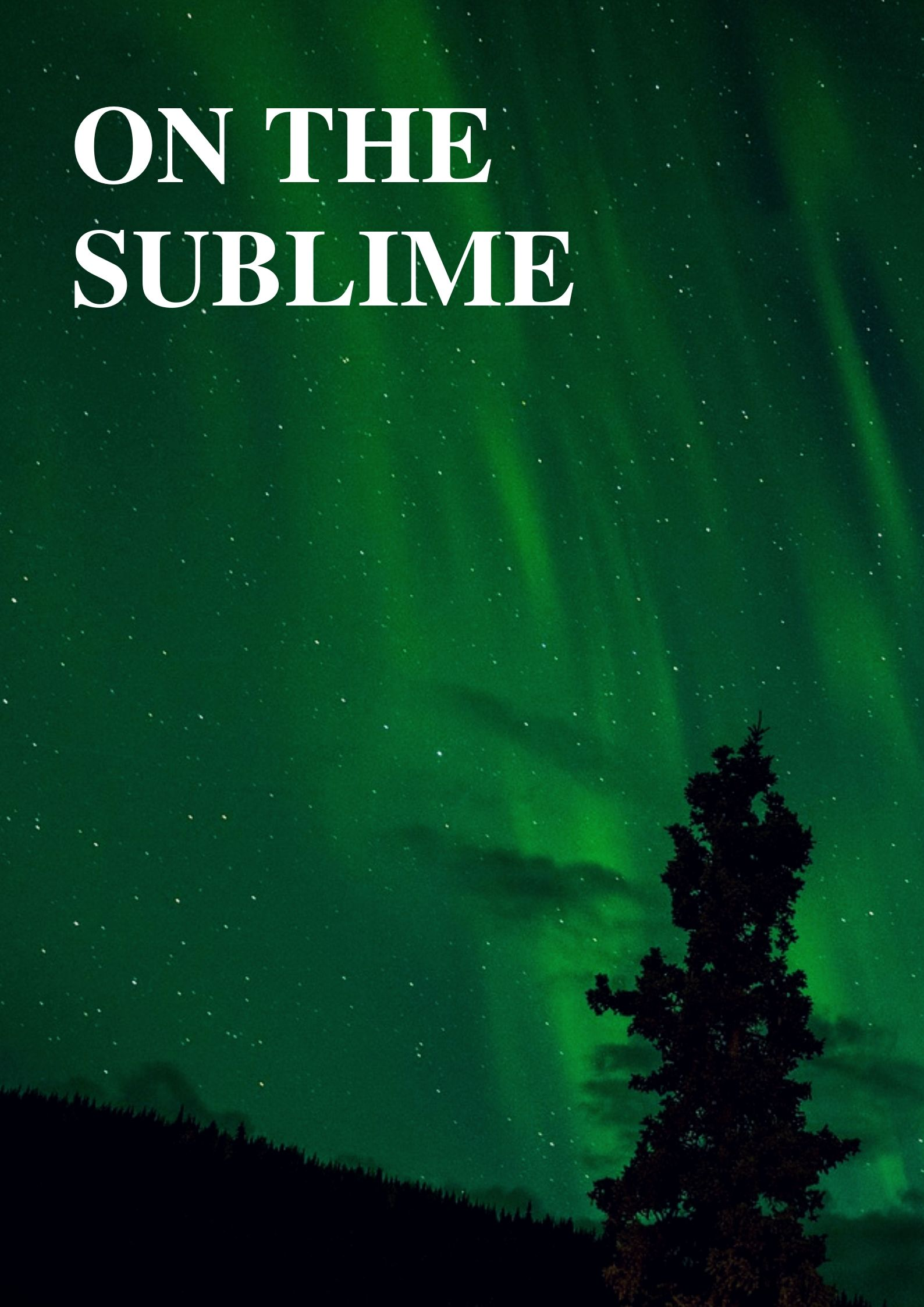 On the sublime by Longinus